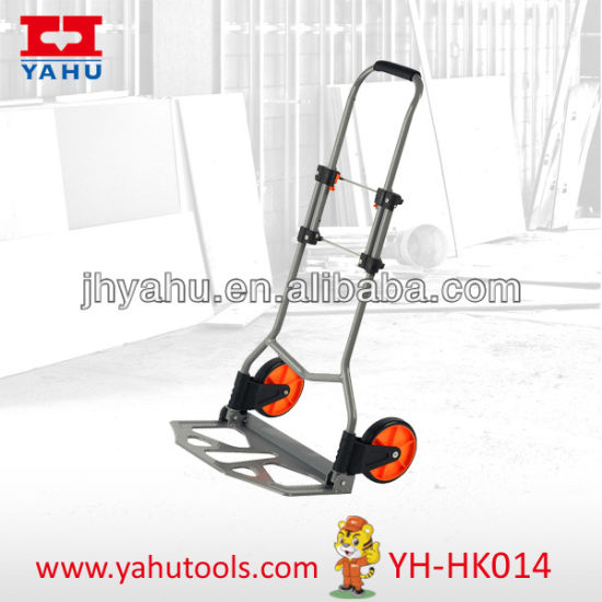 Cheap Hand Truck Plastic Wheel Garden Trolley From Yahu Hand Pallet Truck Suppliers From China (YH-HK014)