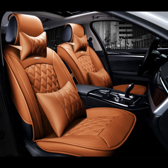 Luxury 3D Full Surround Car Seat Cover PU Leather Covers Cushion Universal Automobiles Accessories Interior Styling