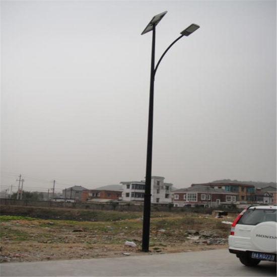 60W Solar Powered Street Lights (6-8-10M-D3)