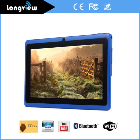 7 Inch Cheapest Model Quad Core Q88 Android Tablet with Flash Light Camera