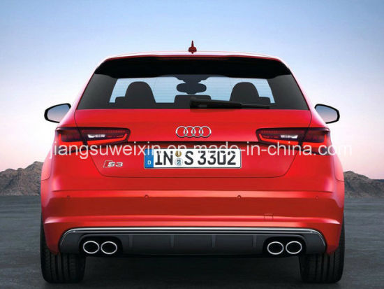 High Quality S3 2014-up Rear Car Front Lip Bumper Spoiler pictures & photos