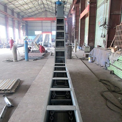 Vertical Mining Machine Inlined Scraper Conveying System Chain Conveyor