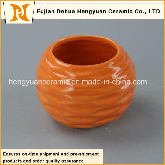 China Household Decoration Small Ceramic Flower Pots - China
