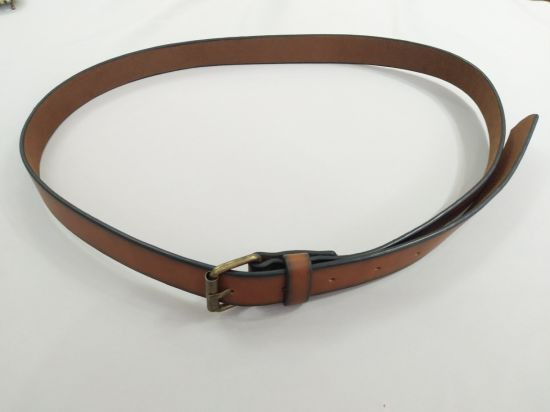 Fashion Brown Woven's PU Belt
