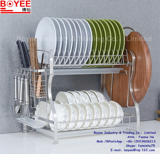 Hot Item Kitchen Hand Washing Dish Plate Holder Rack