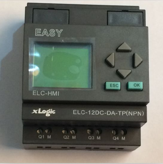 Factory Price Programmable Logic Controller PLC for Intelligent Control (Programmable Relay ELC-12DC-DA-TP-HMI) pictures & photos