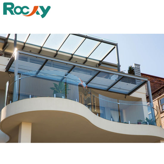 Rocky Balcony Laminated Safety Glass Railing with Spigot pictures & photos