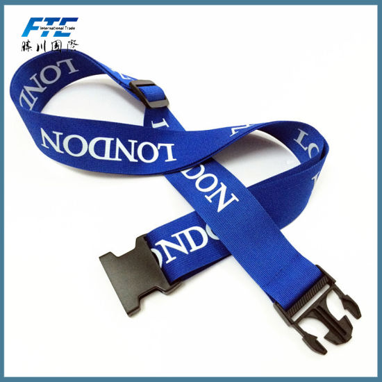 Design Custom Logo Polyester Lanyard with Silk Printing pictures & photos
