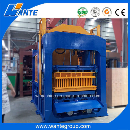 China Block Machine Qt10-15 Hydraulic Paving Brick Making Machine Price pictures & photos