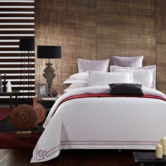 Wholesale 5-Star 60s King Size Satin Egyptian Cotton Hospital/Hotel Bedding