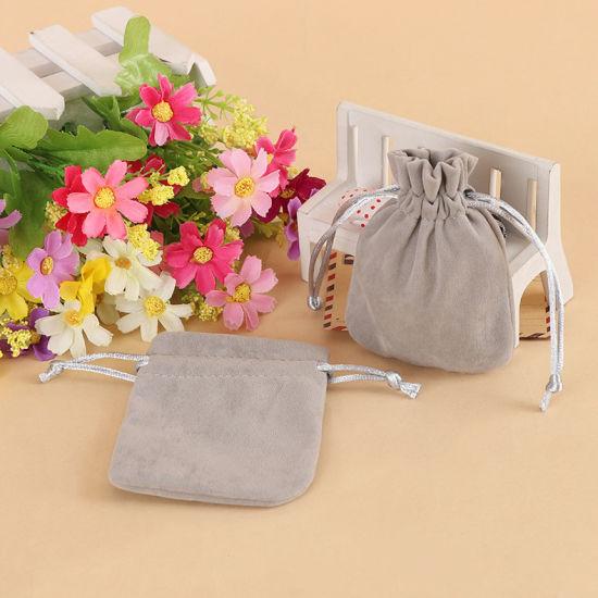 Velvet Drawstring Bags for Gift Jewelry Candy Packaging Bag (CVB-1142)
