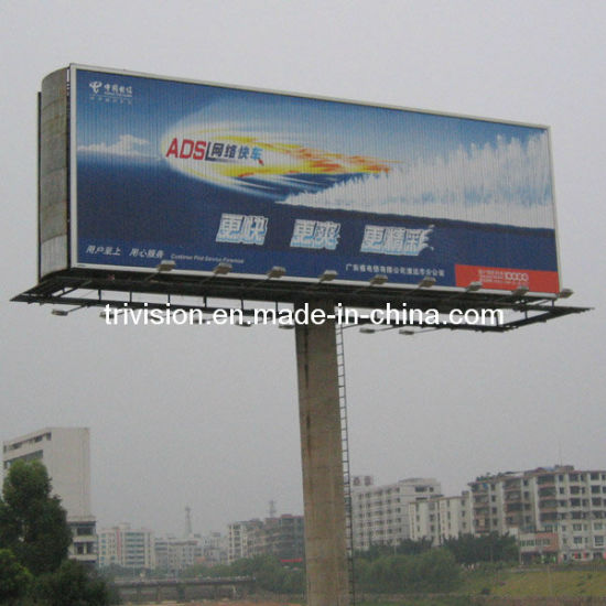 High Pole Three Side Advertising Display Trivision Billboard (F3V-131) pictures & photos
