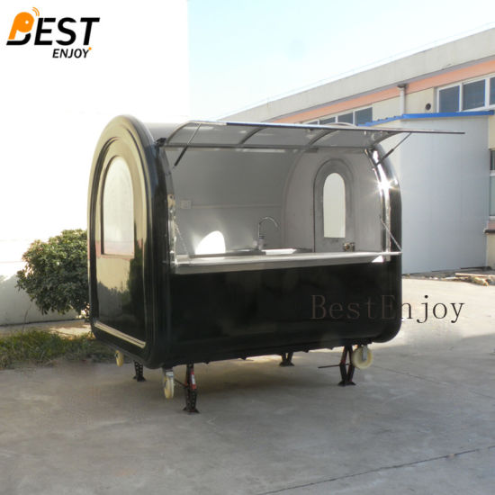 [Hot Item] Factory Supply New Style Fast Food Trailer/ Electric Food Van/  Mobile Food Cart Design