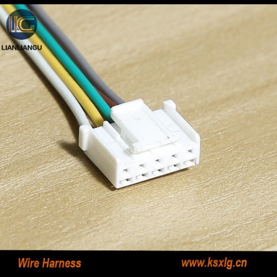 china molex jst terminals wiring harness assembly connecting line