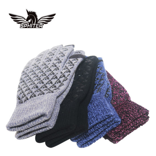 New Fashion Cotton Knit Gloves Winter Gloves High Quality Touch Screen Gloves for Women