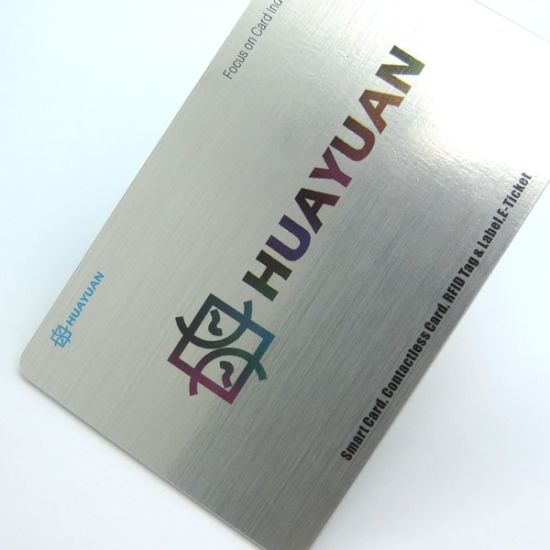 Metal business cards printing choice image card design and card china logo printing pvc mifare classic 1k metal business cards logo printing pvc mifare classic 1k reheart Gallery