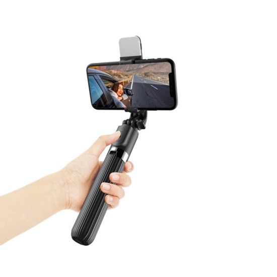 L03s Monopod Tripode Bluetooth Tripod Selfie Stick with LED Light