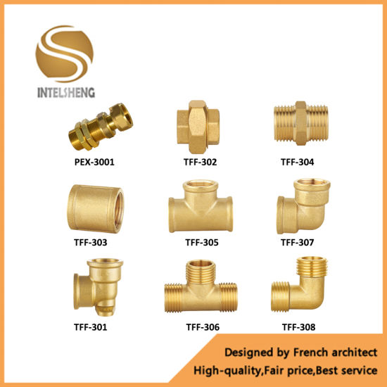 Brass Elbow Fittings Pipe Fittings (TFF-060-04)