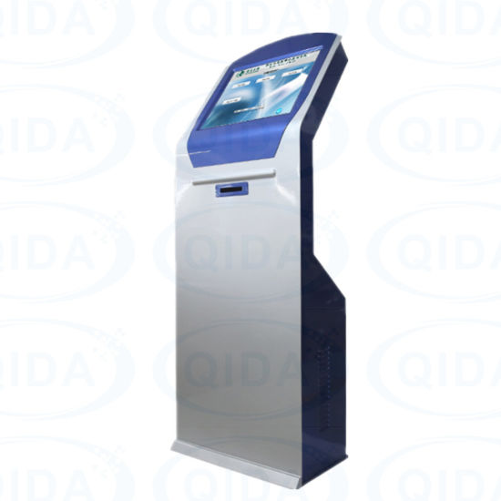 32 Inch Self Checkout Capacitive Touch Screen Kiosk Android Payment Kiosk