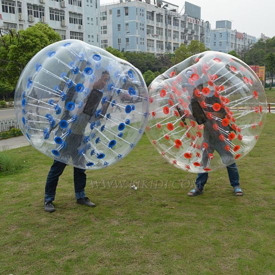 Bubble Footballs, Bubble Soccers, Bumper Ball, Loopy Balls Good Price-Paypal Accepted