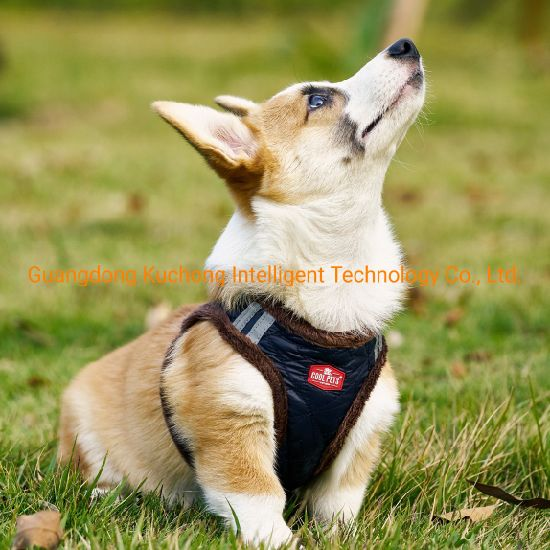 Easy Put-on Pet Clothes Dog Harness for Winter
