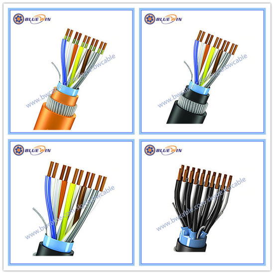China Instrument Cable Multi Core Pair Triad Twisted