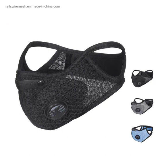 sport maskrunning mask cycling face guard with 5 layers activated carbon filter