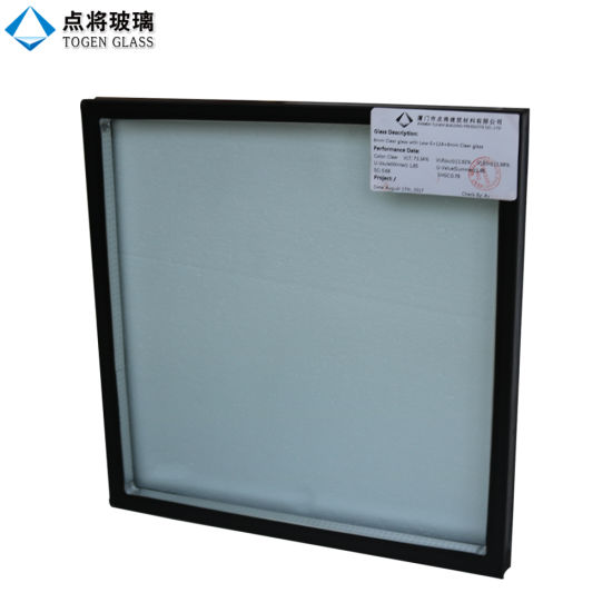 24mm Clear Low E Double Glazing Units for Frigid Zone