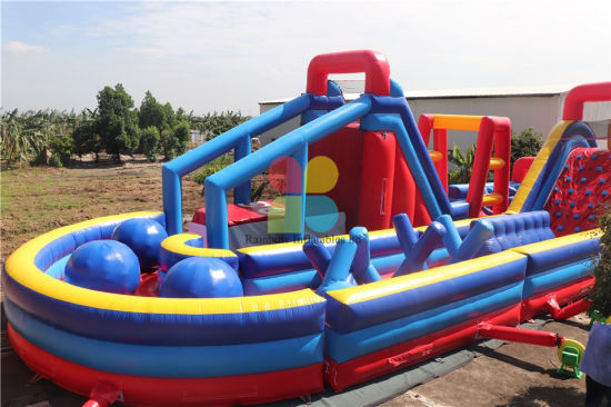 Giant Inflatable Obstacle Course for Adults pictures & photos