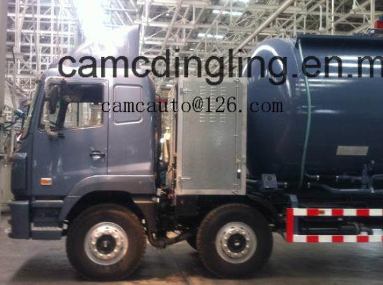 6X4 CNG Bulk Cement Truck, Cement Truck