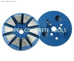 Polar Magnetic System Concrete Floor Surface Prep Polishing Tools pictures & photos
