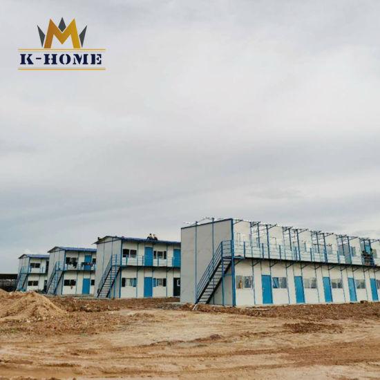 2 Story Prefabricated Modern Staff House