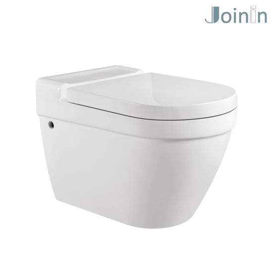 Sanitary Ware Bathroom Water Closet Ceramic Wc Wall Hung Toilet From Chaozhou (JYA01) pictures & photos