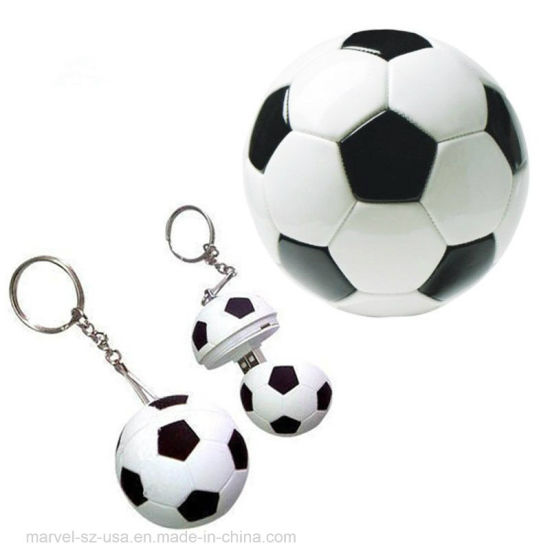 Customized Logo Football Pen Drive USB 2.0 Flash Memory Stick 8GB USB Flash Drive U Disk Pendrive pictures & photos