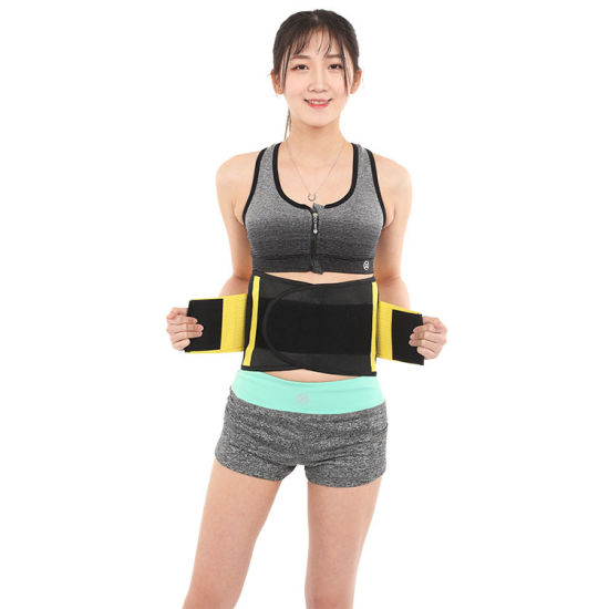 China Sweat Belt Fajas Reductoras Waist Trainer Body Shaper