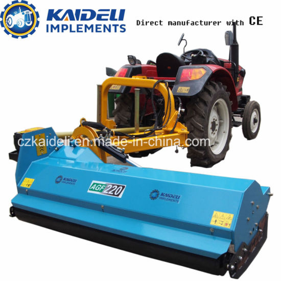 Heavy Duty Build Machines for Verge and Field Mowing