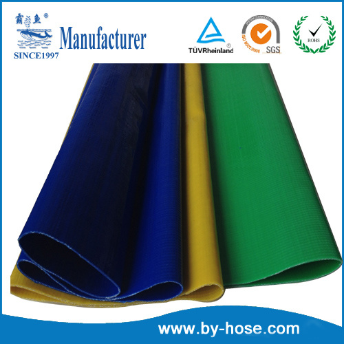 PVC Agriculture Irrigation Industrial Lay Flat Water Pump Discharge Flexible Garden Hose pictures & photos