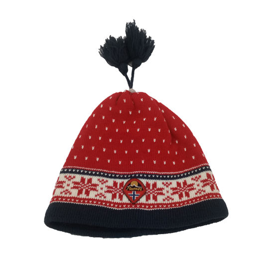 30a1ca77d5d China Wholesale Knitted Beanie with POM POM 100%Acrylic Hat - China ...