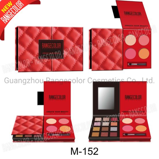 20 Colors Eyeshadow Palette Makeup Custom Cardboard Eyeshadow Palette 4 Colors Blush&Highlighter Internet Sta pictures & photos
