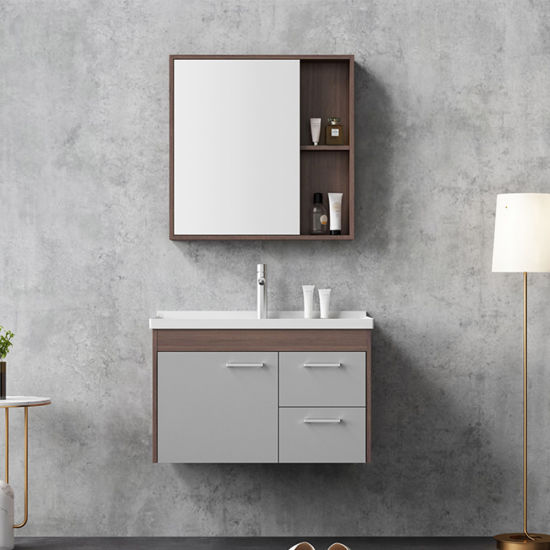 Modern Under Sink Wash Basin Wooden Bathroom Cabinet With Mirror China Bathroom Cabinet Bathroom Vanity Made In China Com