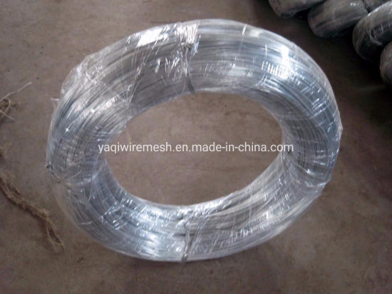 Factory Electro Galvanized Iron Wire Binding Wire 0.7mm-4mm for Fishing Cage pictures & photos