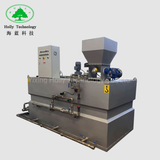 Automatic Polymer Dosing System for Sewage Treatment