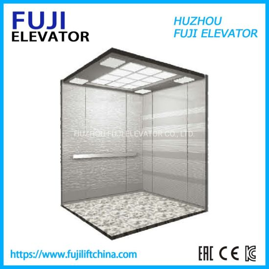 FUJI Vvvf 0.4m/S Home Elevator Cheap Small Sightseeing Villa Passenger Elevator Lift Panoramic/Observation Glass Elevator
