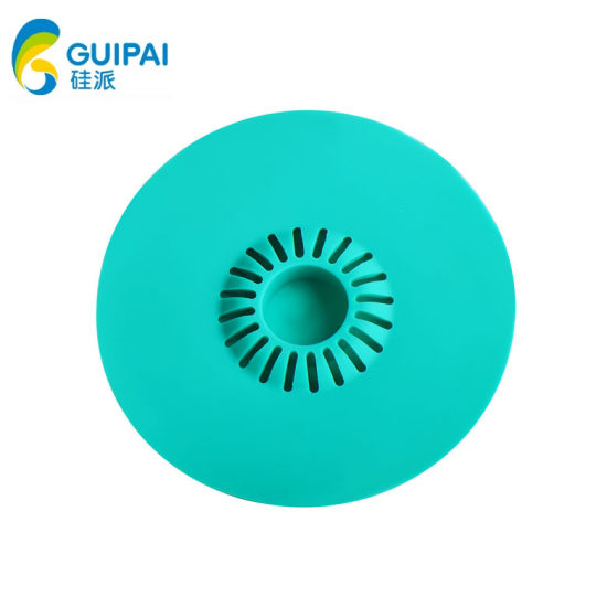 Collapsible Folding Silicone Sink Plug Filter Silicone Water Strainer Stopper for Bath Shower Kitchen