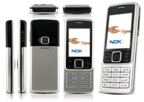 Original Refurbished Mobile Phone for Nokia 6300 with Full Color Cell Phone