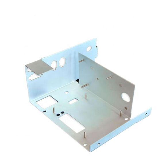 OEM Customized Aluminum Pressing Components Sheet Metal Fabrication with Anodizing Finish