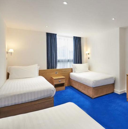 Simle Hotel Design Bed Room Furniture Bedroom Single Bed