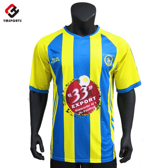 Wholesale Athletic Wear Sublimation Soccer Jersey Football Shirt
