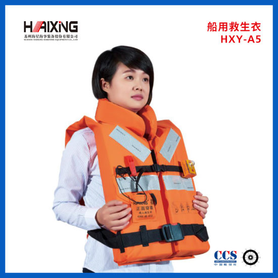 High Quality Solas Approval Polyester Adult Surfing Life Vest with Good Price