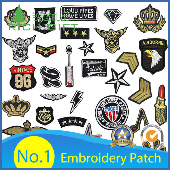 Badge Southern Cross Stars  Bikers Embroidered  Cloth Patch